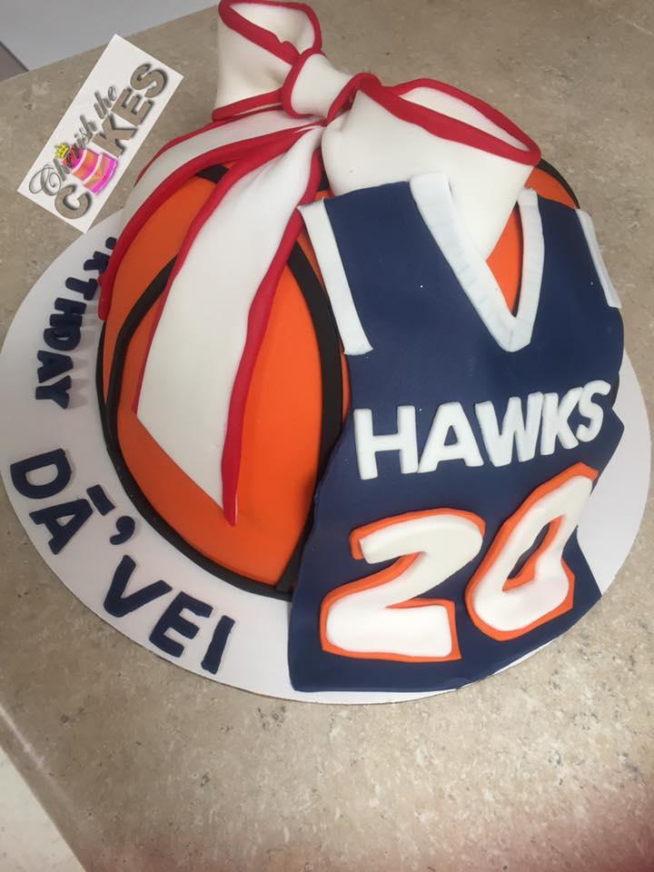 b6e0f96c8 Basketball and Sports Jersey Cake – Cherish the Cakes