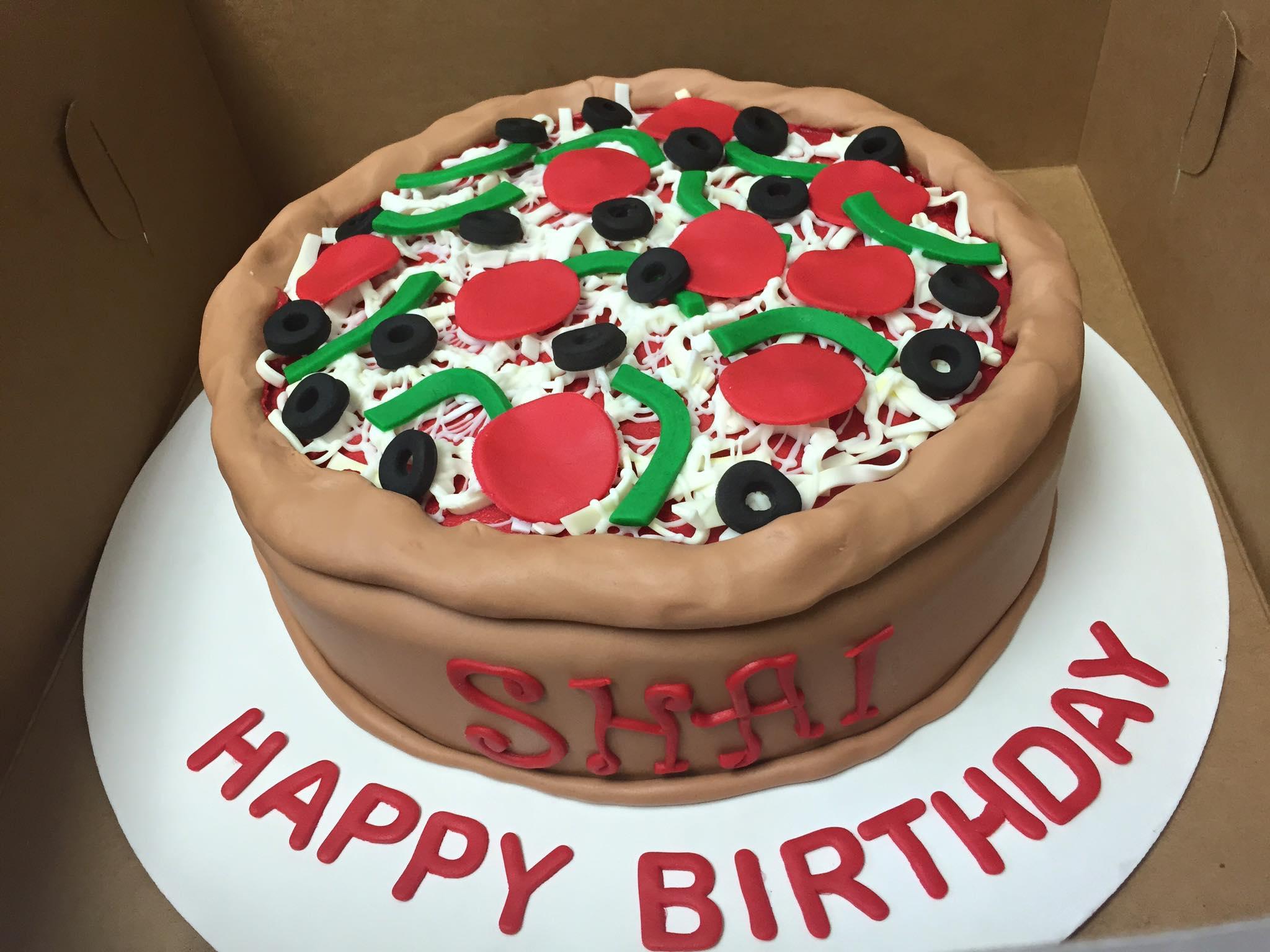 Ninja Turtles Pizza Cake – Cherish the Cakes
