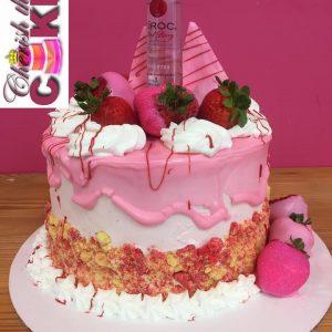 Ciroc Shots Red Berry Crunch Cake
