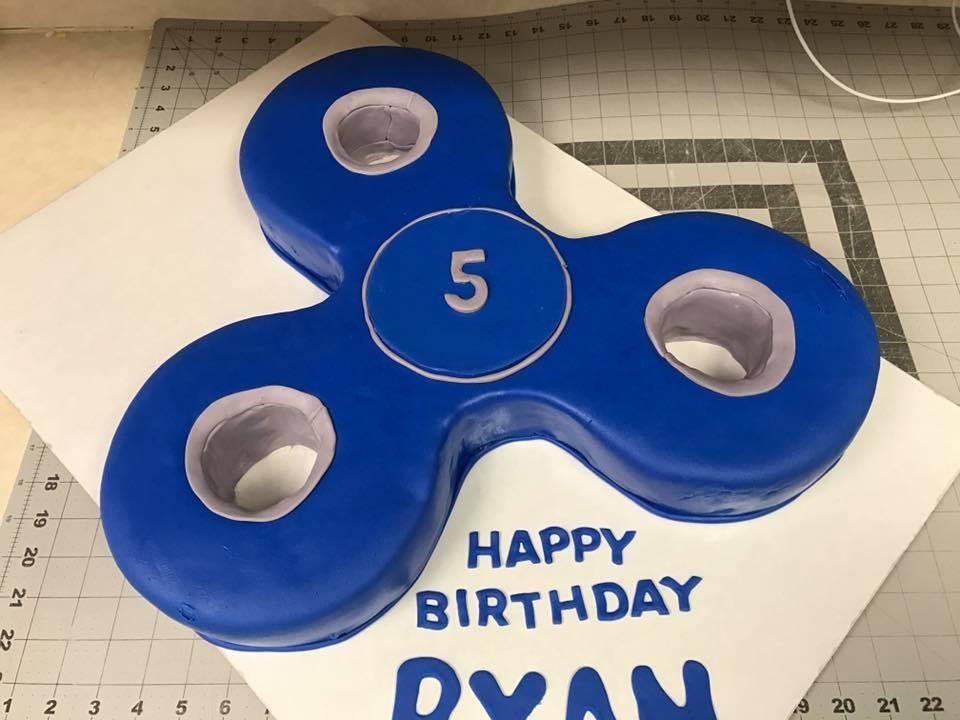 Fidget Spinner Birthday Cake – Cherish the Cakes