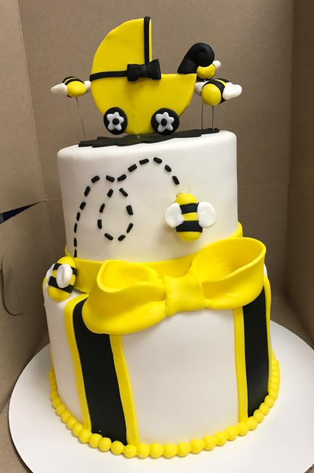 Bumble Bee Baby Cake Cherish The Cakes