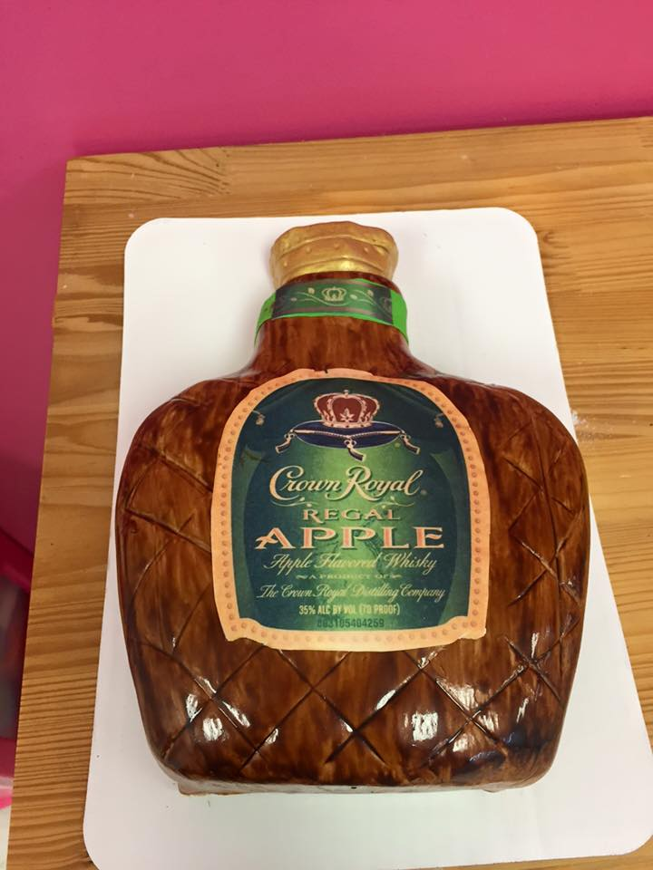 Crown Apple Party Cake Cherish The Cakes